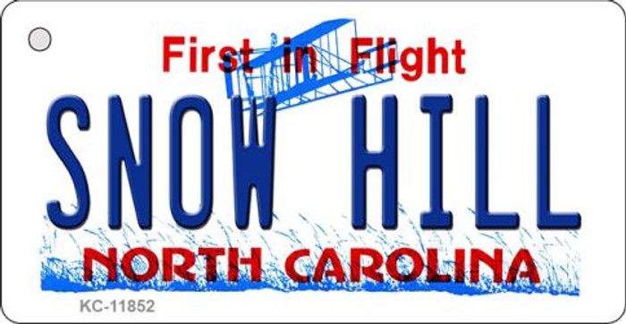 Snow Hill North Carolina Wholesale Novelty Metal Key Chain KC-11852