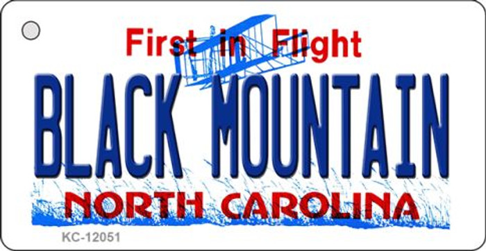 Black Mountain North Carolina Wholesale Novelty Metal Key Chain KC-12051