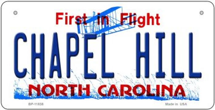 Chapel Hill North Carolina Wholesale Novelty Metal Bicycle Plate BP-11838