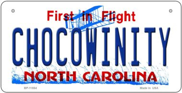 Chocowinity North Carolina Wholesale Novelty Metal Bicycle Plate BP-11854