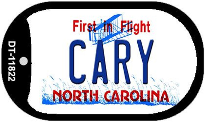 Cary North Carolina Wholesale Novelty Metal Dog Tag Necklace DT-11822