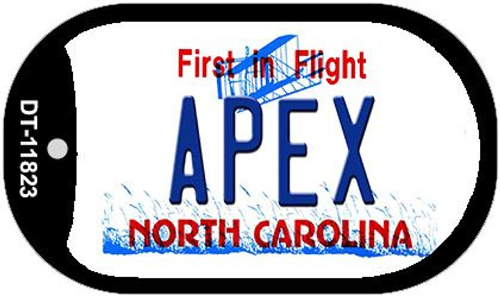 Apex North Carolina Wholesale Novelty Metal Dog Tag Necklace DT-11823