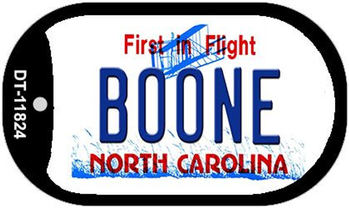 Boone North Carolina Wholesale Novelty Metal Dog Tag Necklace DT-11824