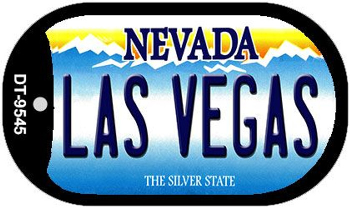 Las Vegas Nevada Wholesale Novelty Metal Dog Tag Necklace DT-9545