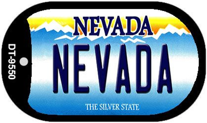 Nevada Nevada Wholesale Novelty Metal Dog Tag Necklace DT-9550