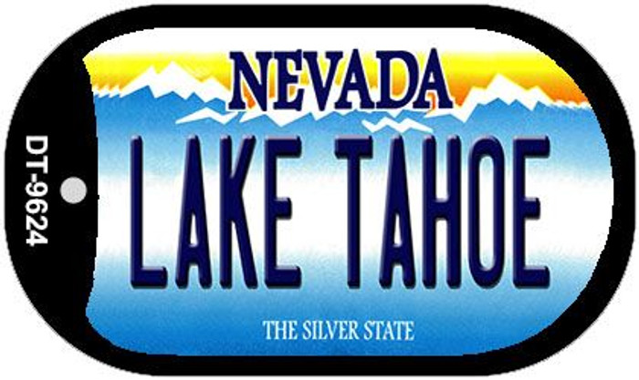 Lake Tahoe Nevada Wholesale Novelty Metal Dog Tag Necklace DT-9624