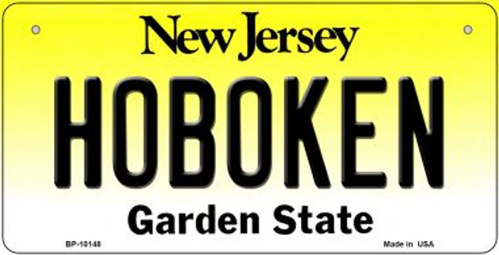 Hoboken New Jersey Wholesale Novelty Metal Bicycle Plate BP-10148