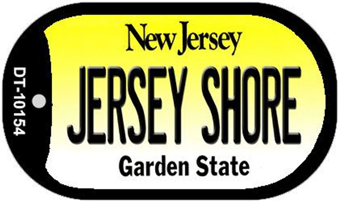 Jersey Shore New Jersey Wholesale Novelty Metal Dog Tag Necklace DT-10154