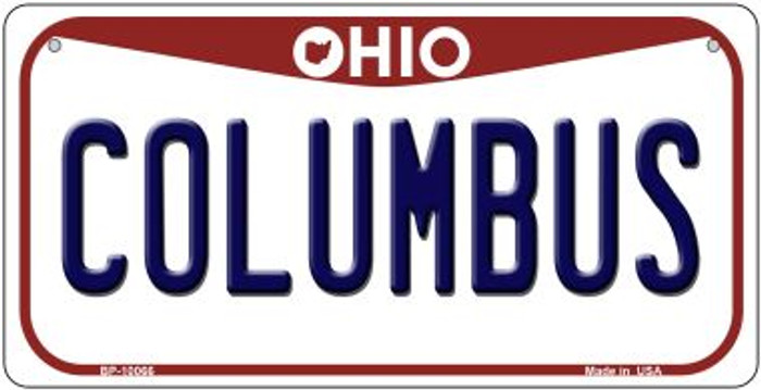 Columbus Ohio Wholesale Novelty Metal Bicycle Plate BP-10066