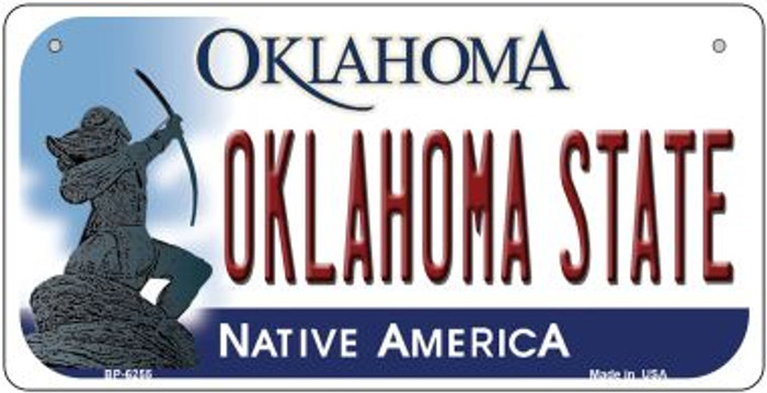 Oklahoma State Wholesale Novelty Metal Bicycle Plate BP-6255