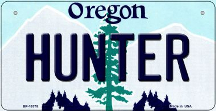 Hunter Oregon Wholesale Novelty Metal Bicycle Plate BP-10378
