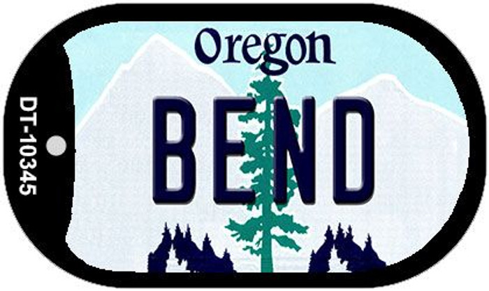 Bend Oregon Wholesale Novelty Metal Dog Tag Necklace DT-10345