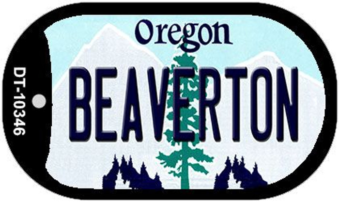 Beaverton Oregon Wholesale Novelty Metal Dog Tag Necklace DT-10346