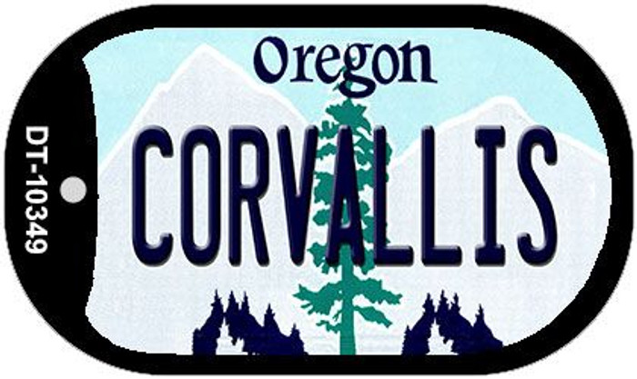 Coroallis Oregon Wholesale Novelty Metal Dog Tag Necklace DT-10349