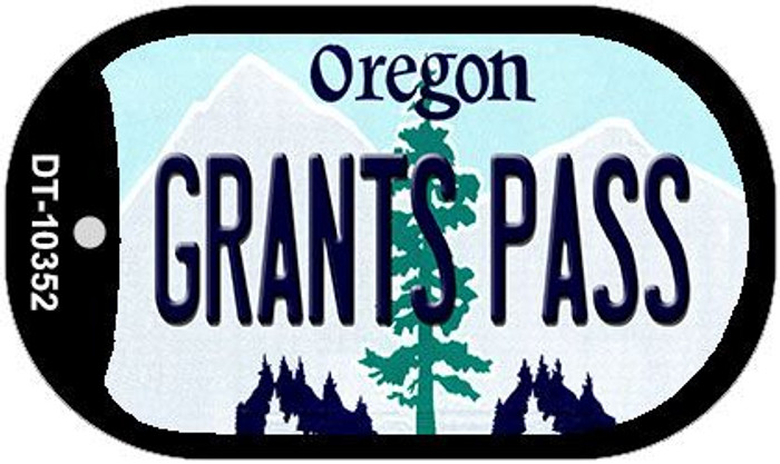Grants Pass Oregon Wholesale Novelty Metal Dog Tag Necklace DT-10352