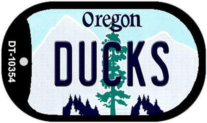 Ducks Oregon Wholesale Novelty Metal Dog Tag Necklace DT-10354