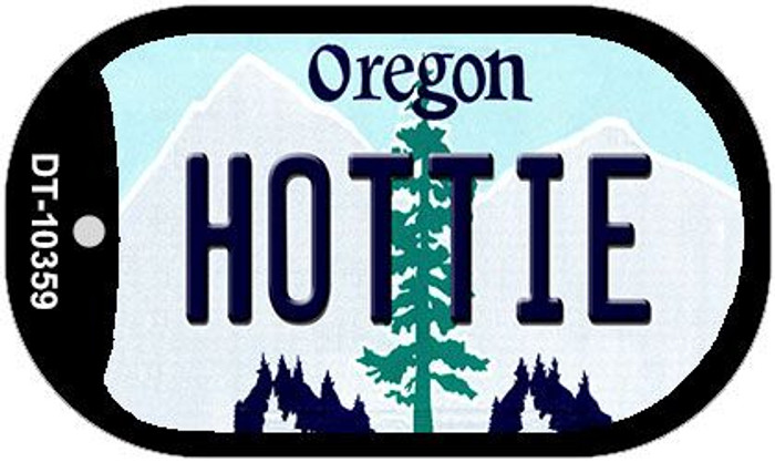 Hottie Oregon Wholesale Novelty Metal Dog Tag Necklace DT-10359