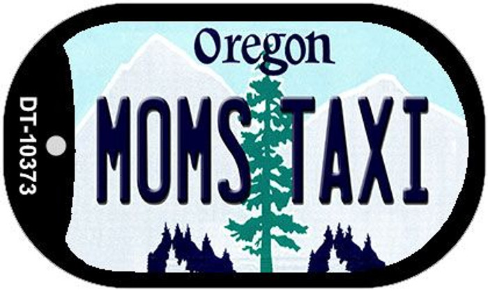 Moms Taxi Oregon Wholesale Novelty Metal Dog Tag Necklace DT-10373