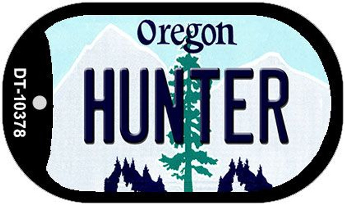 Hunter Oregon Wholesale Novelty Metal Dog Tag Necklace DT-10378