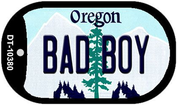 Bad Boy Oregon Wholesale Novelty Metal Dog Tag Necklace DT-10380