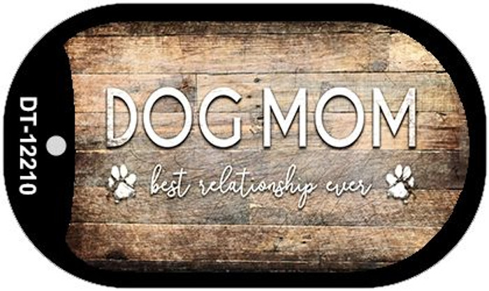 Dog Mom Wholesale Novelty Metal Dog Tag Necklace DT-12210