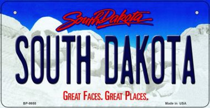 South Dakota Wholesale Novelty Metal Bicycle Plate BP-9955