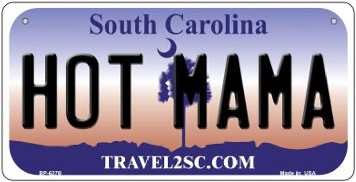 Hot Mama South Carolina Wholesale Novelty Metal Bicycle Plate BP-6270