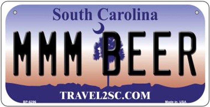 MMM Beer South Carolina Wholesale Novelty Metal Bicycle Plate BP-6296