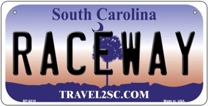 Raceway South Carolina Wholesale Novelty Metal Bicycle Plate BP-6310
