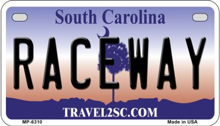 Raceway South Carolina Wholesale Novelty Metal Motorcycle Plate MP-6310