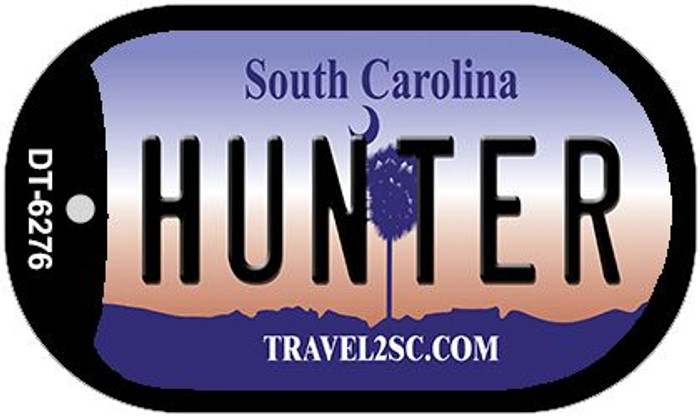 Hunter South Carolina Wholesale Novelty Metal Dog Tag Necklace DT-6276