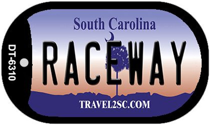 Raceway South Carolina Wholesale Novelty Metal Dog Tag Necklace DT-6310