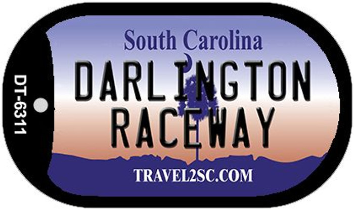 Darlington Raceway South Carolina Wholesale Novelty Metal Dog Tag Necklace DT-6311