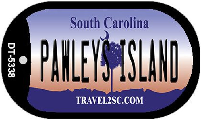 Pawleys Island South Carolina Wholesale Novelty Metal Dog Tag Necklace DT-5338