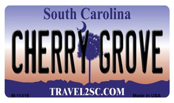 Cherry Grove South Carolina Wholesale Novelty Metal Magnet M-11416