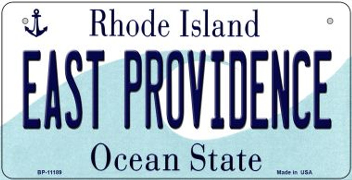 East Providence Rhode Island Wholesale Novelty Metal Bicycle Plate BP-11189