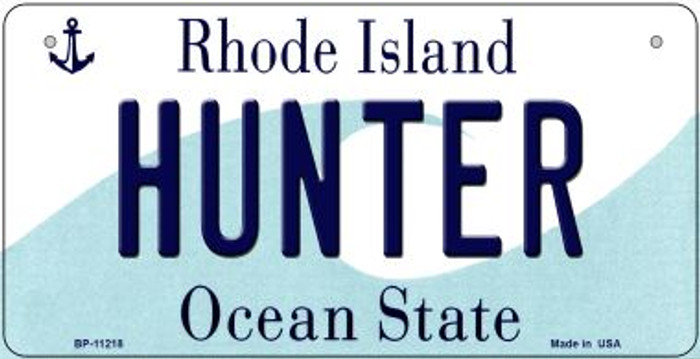 Hunter Rhode Island Wholesale Novelty Metal Bicycle Plate BP-11218