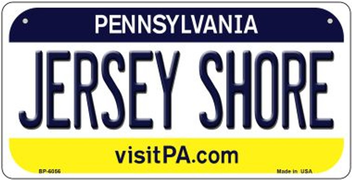 Jersey Shore Pennsylvania Wholesale Novelty Metal Bicycle Plate BP-6056