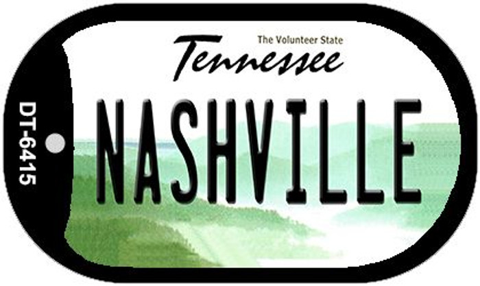Nashville Tennessee Wholesale Novelty Metal Dog Tag Necklace DT-6415