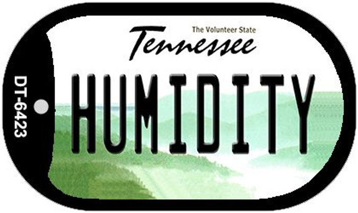 Humidity Tennessee Wholesale Novelty Metal Dog Tag Necklace DT-6423