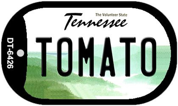 Tomato Tennessee Wholesale Novelty Metal Dog Tag Necklace DT-6426