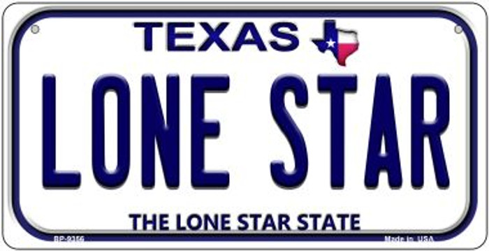 Lone Star Texas Wholesale Novelty Metal Bicycle Plate BP-9356