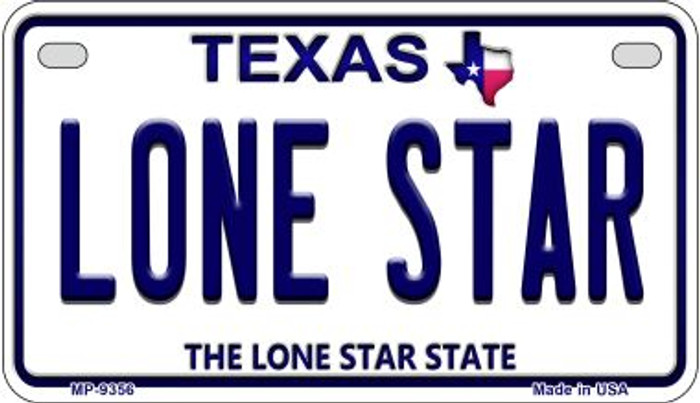 Lone Star Texas Wholesale Novelty Metal Motorcycle Plate MP-9356