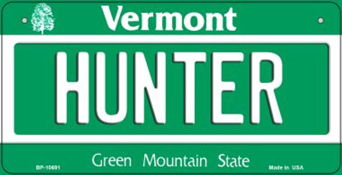 Hunter Vermont Wholesale Novelty Metal Bicycle Plate BP-10691