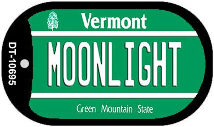 Moonlight Vermont Wholesale Novelty Metal Dog Tag Necklace DT-10695