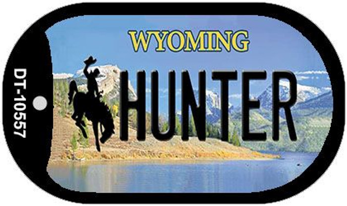 Hunter Wyoming Wholesale Novelty Metal Dog Tag Necklace DT-10557