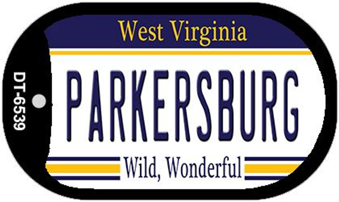 Parkersburg West Virginia Wholesale Novelty Metal Dog Tag Necklace DT-6539