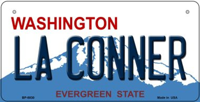 LA Conner Washington Wholesale Novelty Metal Bicycle Plate BP-8830