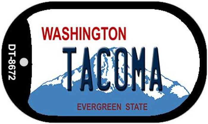 Tacoma Washington Wholesale Novelty Metal Dog Tag Necklace DT-8672