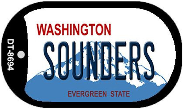 Sounders Washington Wholesale Novelty Metal Dog Tag Necklace DT-8694